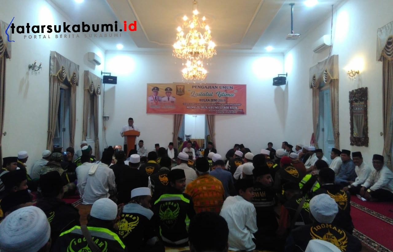 Lailatul Ijtima Pemkab Sukabumi Sekaligus Lepas Kafilah STQ Tingkat Nasional 2019