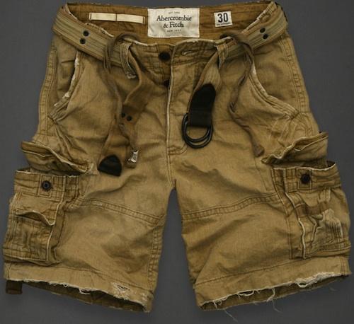 Abercombie fitch algonquin cargo shorts