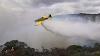 Aeronaves combatem incêndio no Parque das 7 Passagens em Miguel Calmon