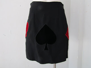 Moschino Cheap & Chic 'Ace of Spades' Skirt