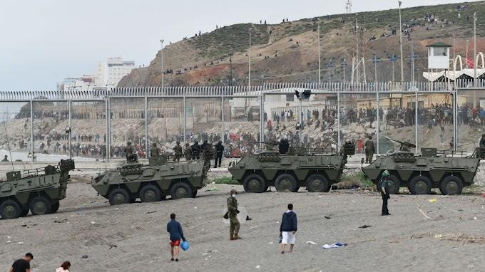 Crisis migratoria hispano marroquí en Ceuta. ¿Nueva Marcha Verde?
