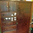 Antique Chifforobe Project Makes 24 Feet of Flat Storage and Rollout Desk!