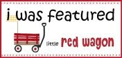 I was Featured on Little Red Wagon for my Fathers Day Card
