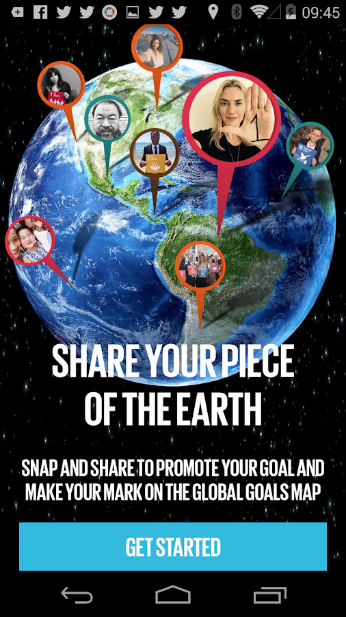 The Global Goals- screenshot