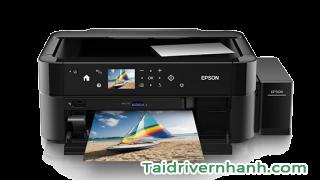Download và cài đặt driver máy in Epson L810