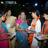 My Wife Campaigning at Bandatamma Kaalamma Temple