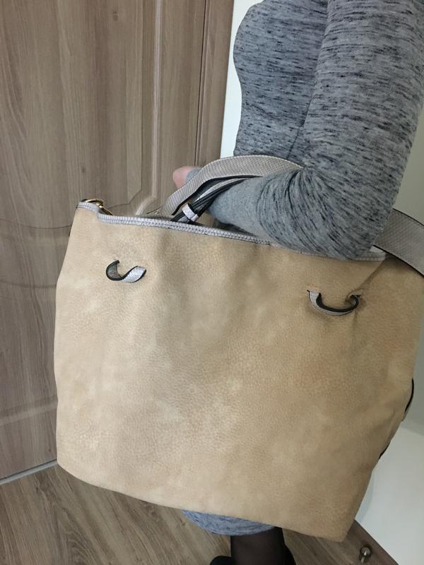 Женская сумка двусторонняя Glamorous