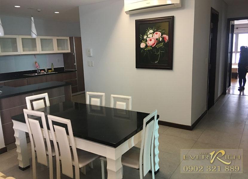 Giá thuê căn hộ 2 và 3 phòng ngủ The Everrich
