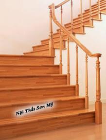 Cầu thang gỗ CTSM0101