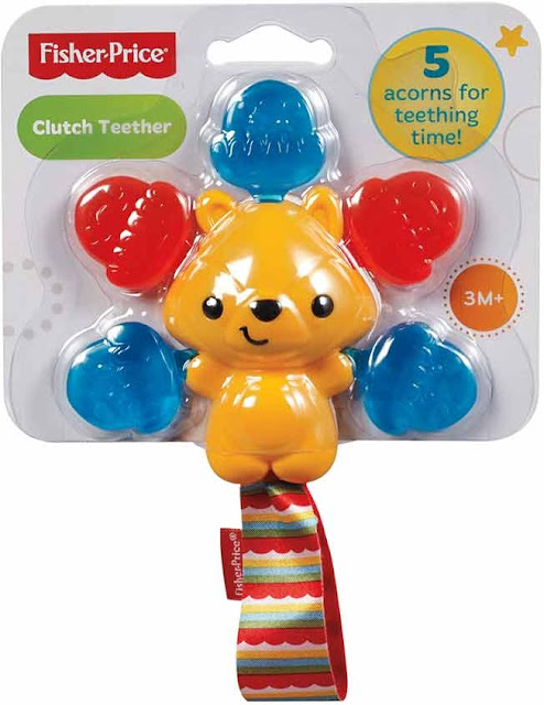 Ngậm nướu Gấu xinh Fisher Price Clutch Teether CDT70