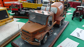 Cement Mixer model with weathering