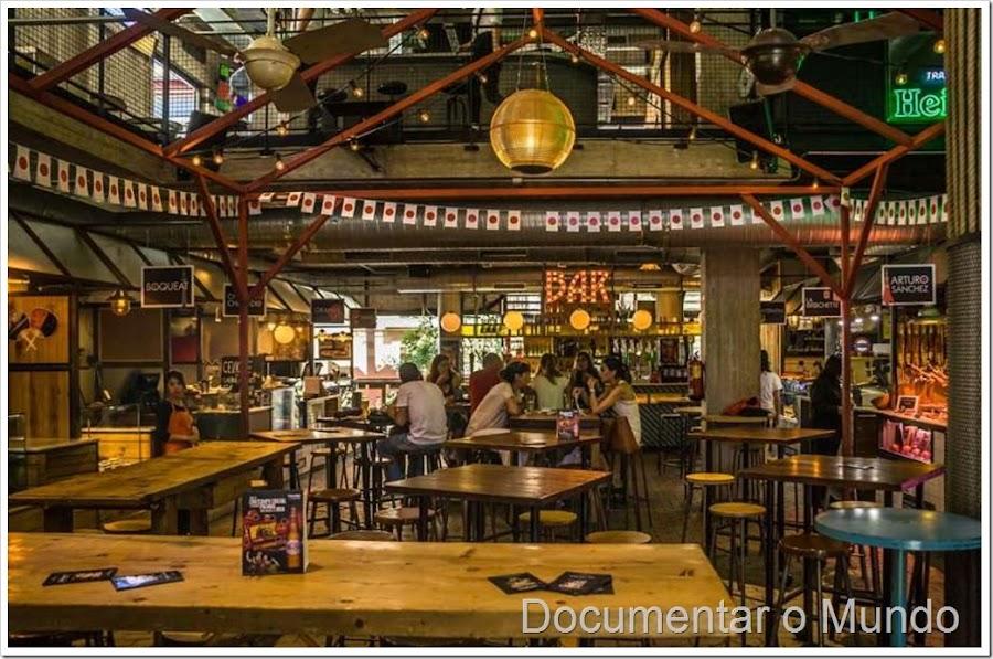 Mercados de Madrid, mercados gastronómicos de Madrid, mercado de San Ildefonso