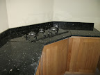 Black pearl Granite Countertop