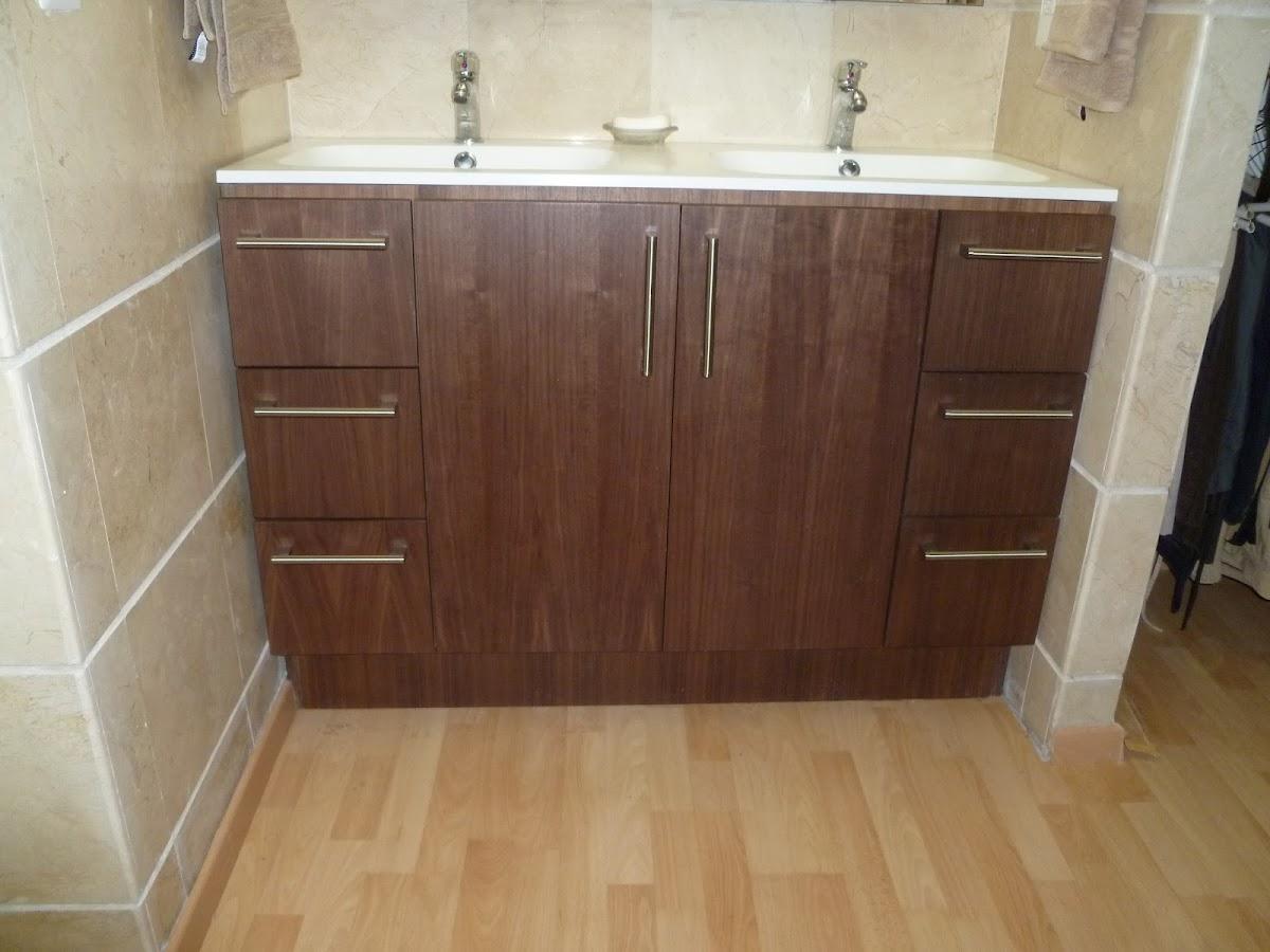 24 genial muebles de madera para ba os im genes foto - Muebles de madera para banos ...