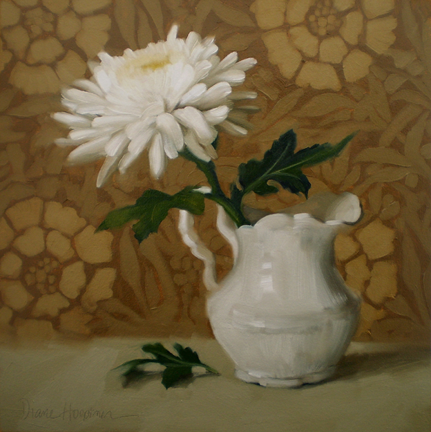 Diane hoeptner white flower oil painting by hoeptner white flower oil painting by hoeptner mightylinksfo