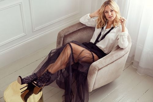 Kate Hudson wears the Keri Bootie