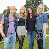 WWW.ENTSIMAGES.COM -   Leighton Denny, Angela Walter, Alex Silver and Hollie Blundell  at       Pup Aid at Primrose Hill, London September 6th 2014Puppy Parade and fun dog show to raise awareness of the UK's cruel puppy farming trade. Pup Aid, the anti-puppy farming campaign started by TV Vet Marc Abraham, are calling on all animal lovers to contact their MP to support the debate on the sale of puppies and kittens in pet shops. Puppies & Celebrities Return To Fun Dog Show Fighting Cruel Puppy Farming Industry.                                              Photo Mobis Photos/OIC 0203 174 1069