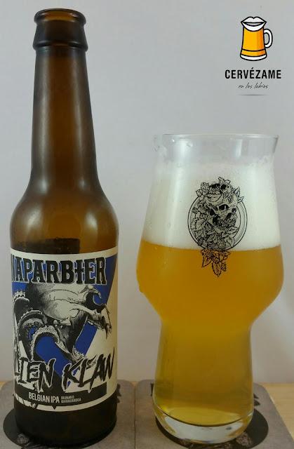 cerveza beer Naparbier Alien Claw cervezame