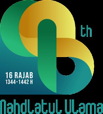 LOGO HARLAH NU Ke-98 RESMI - TAHUN 1442 H (2021) - DOWNLOAD LOGO HARLAH NU 98 HIJRIYAH - CDR PNG BISA DIEDIT