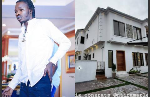 Naira Marley and his new mansion