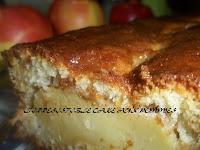 L'irrésistible cake aux pommes - recette indexée dans les Desserts