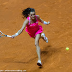 STUTTGART, GERMANY - APRIL 21 : Agnieszka Radwanska in action at the 2016 Porsche Tennis Grand Prix