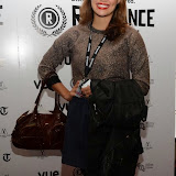 WWW.ENTSIMAGES.COM -   Dina Shihabi     arriving at        World Premiere of Bonobo at the 22nd annual Raindance Film Festival in Vue Piccadilly, London September 25th 2014Feature length which follows a straight laced middle-aged widow as she attempts to remove her daughter from a hippy commune.                                               Photo Mobis Photos/OIC 0203 174 1069