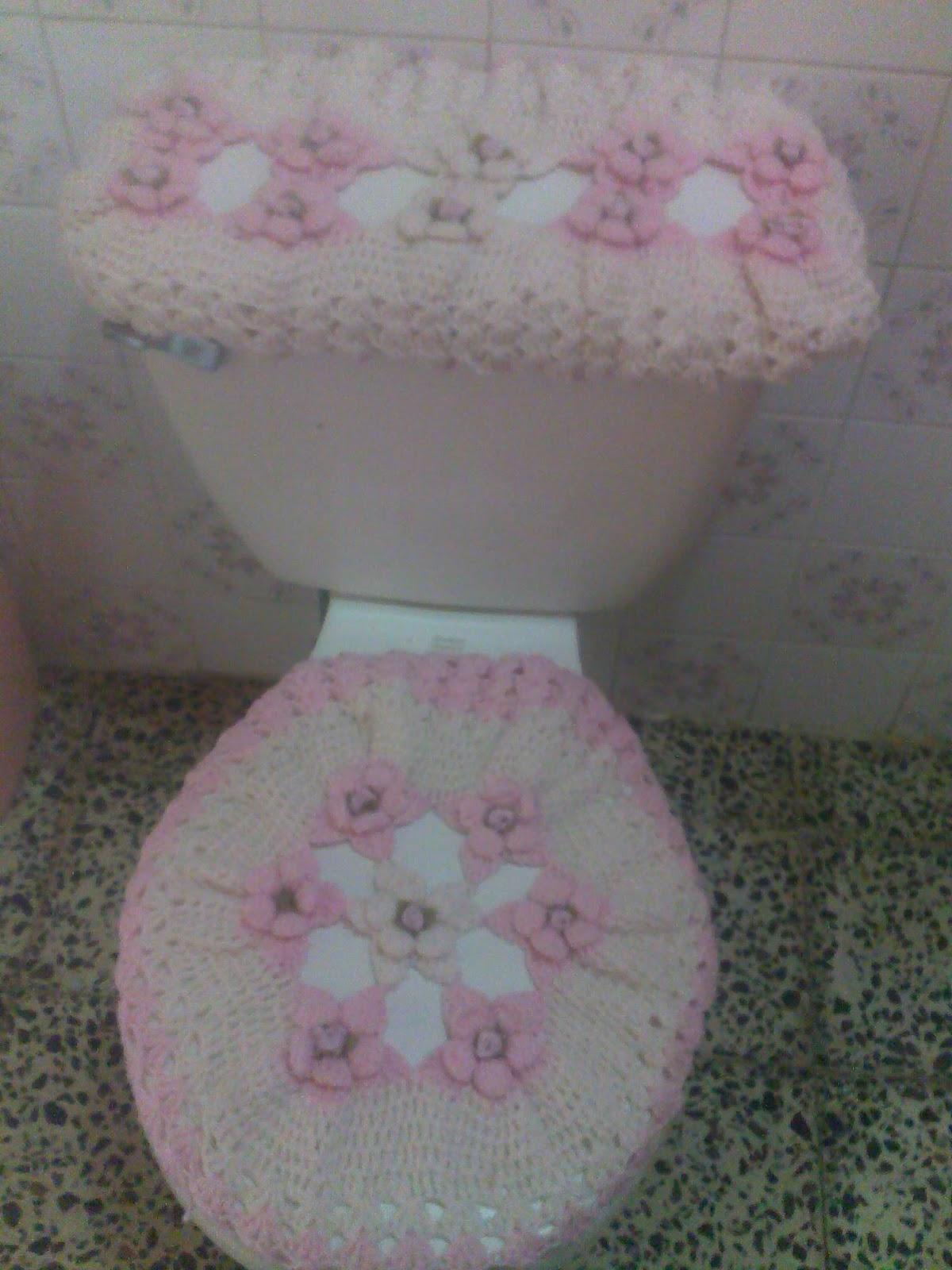 Set De Baño Tejido En Crochet Paso A Paso:paso a paso