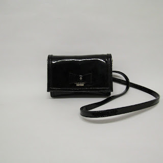 Kate Spade Patent Leather Crossbody Micro Bag