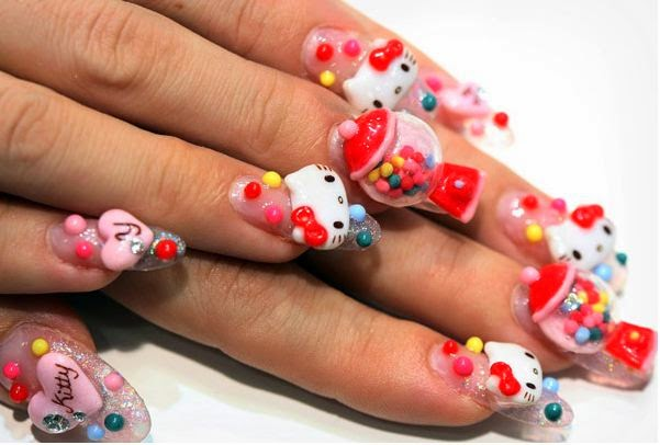 3d Nail Art Designs 2014 Magranace