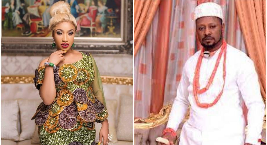 'You're a man' - Tonto Dikeh's ex-boyfriend Kpokpogri hails her ex-husband Olakunle Churchill following reports Tonto ended her relationship with Kpokpogri after the recent controversy