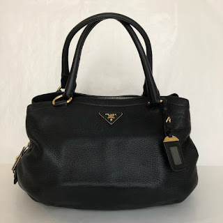 Prada Deerskin Shoulder Bag