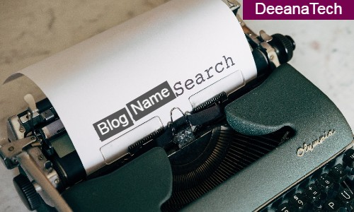 Blog Writing in 2021: Name Your Blog