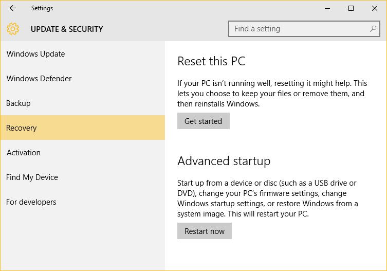 mengaktifkan system restore di windows 10 03