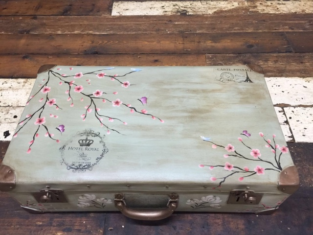 Upcycle unloved suitcases and much more with You Can Folk It
