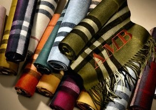 The Burberry Scarf Bar - Classic Cashmere Scarves