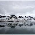 """Tema """"Čarolija planine"""" 2. mjesto: Sanja Imamagić """"Refleksija_Esmark_glecera"""" - Svalbard, Norveška, lipanj 2017."""