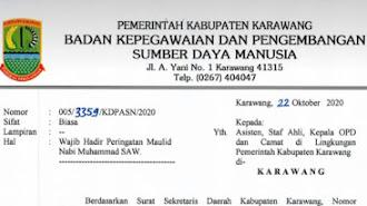 Hari Ini, Milad Karawang Ke 399 Hijriyah di Manggungjaya