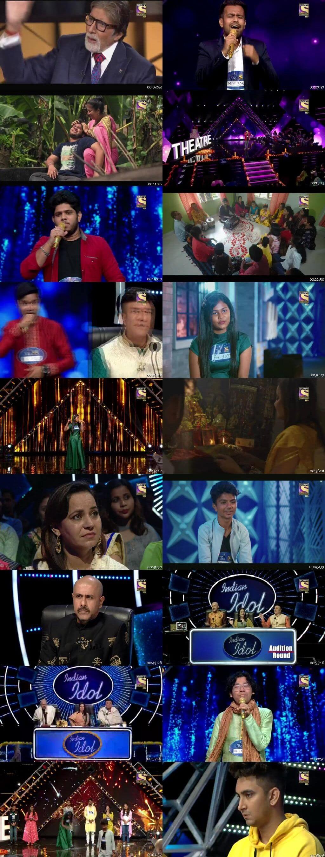 Screenshots Of Hindi Show Indian Idol 27th October 2019 Episode 06 300MB 480P HD