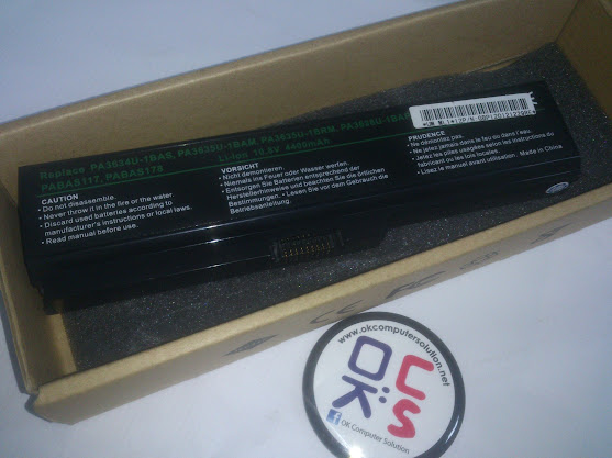 Battery bateri for Toshiba Satellite L203 L205 L300 L305 L455