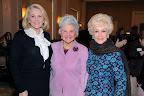 Margaret Ann Purse; Caroline Rose Hunt, 2009 Virginia Chandler Dykes Leadership Award Recipient; Billie Leigh Rippey