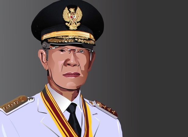 Gubernur Kepri, HM Sani Meninggal Dunia