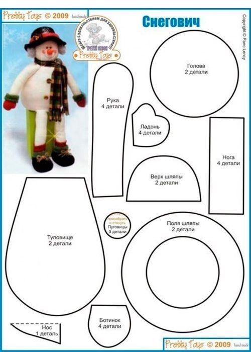 muñeco de nieve 252