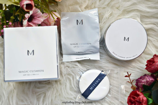 MISSHA-M-MAGIC-CUSHION-LIGHT-BEIGE-REVIEW-ESYBABSY