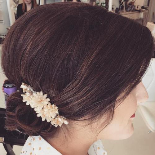 The trendy Wedding Hairstyles For And include hair color 2017 11