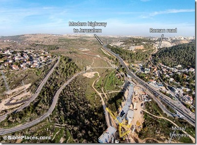 Highway 1 new construction at Moza aerial from northwest, ws120514762-labeled
