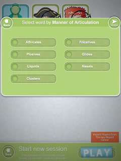 Articulate It Select Manner