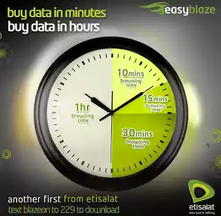 Etisalat Introduces New Unlimited Time-based Data Plans 1