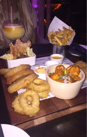 Mc Gettigan's Starter Sample Platter - Mc Gettigan's Galway Blogger Taste & Tell Evening