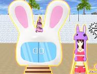 ID Rumah Bunny Hat Unicorn Di Sakura School Simulator